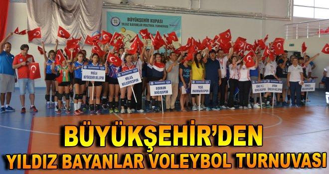 Büyükşehir'den Yıldız Bayanlar Voleybol Turnuvası