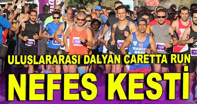 Uluslararası Dalyan Caretta Run nefes kesti