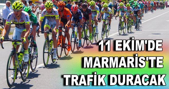 11 Ekim'de Marmaris'te trafik duracak!