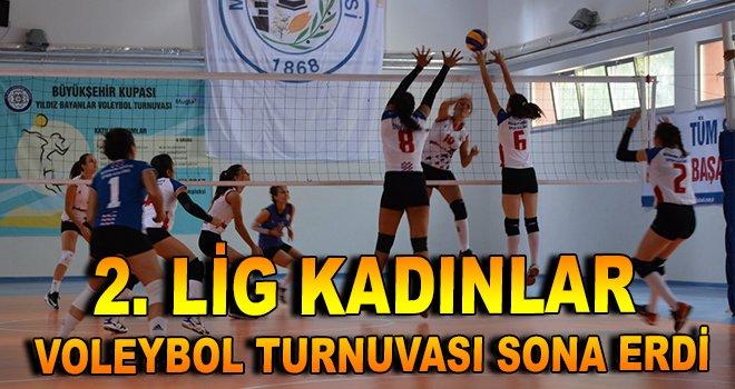2. Lig Kadınlar Voleybol Turnuvası sona erdi