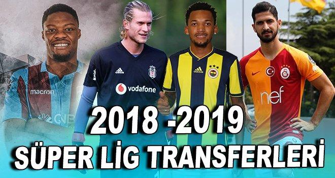 2018 -2019 Süper Lig Transferleri