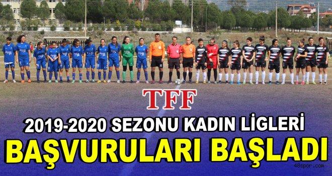 2019-2020 Sezonu Kadın Ligleri için başvurular başladı