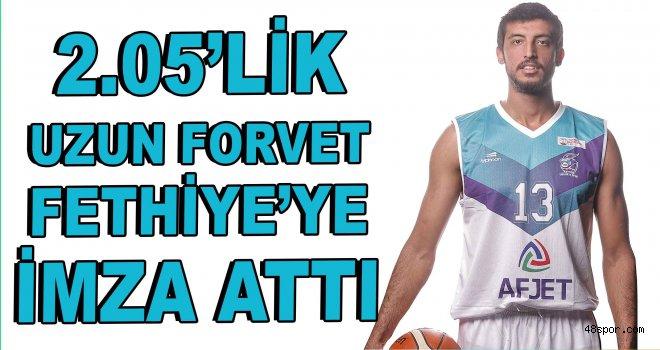 2.05'lik basketbolcu Fethiye'ye imza attı