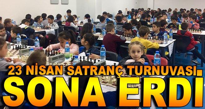 23 Nisan Satranç Turnuvası Sona Erdi