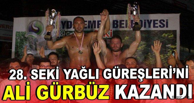 28. Seki Yağlı Güreşleri'ni Ali Gürbüz kazandı