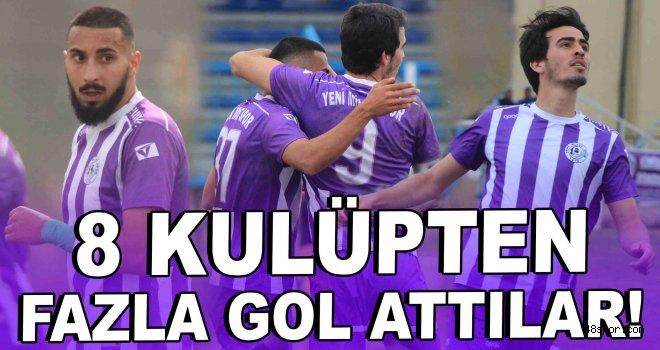 8 kulüpten fazla gol attılar!