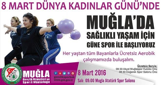 8 Mart'ta Güne Spor Yaparak Başlayın