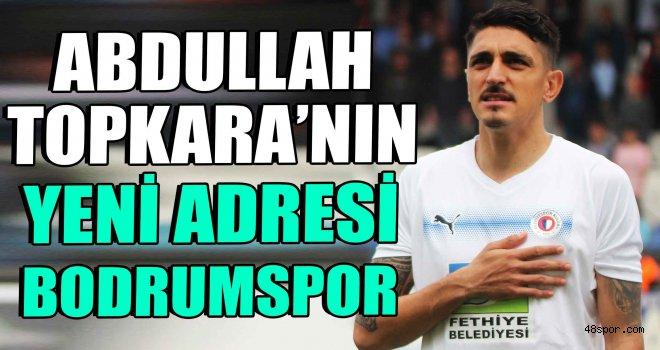 Abdullah Topkara'nın yeni adresi Bodrumspor