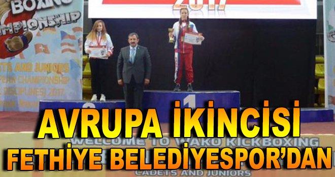 Avrupa ikincisi Fethiye Belediyespor'dan!