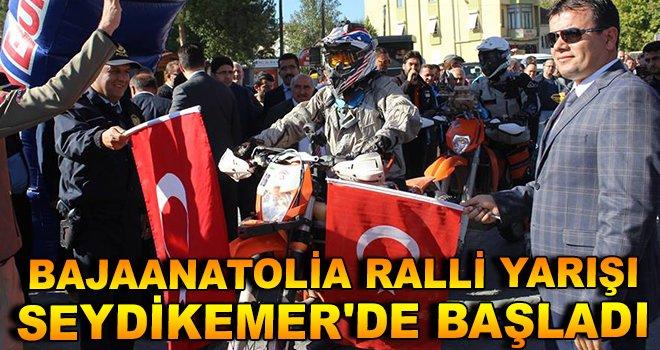 Bajaanatolia Ralli Yarışı Seydikemer'de Start Verildi