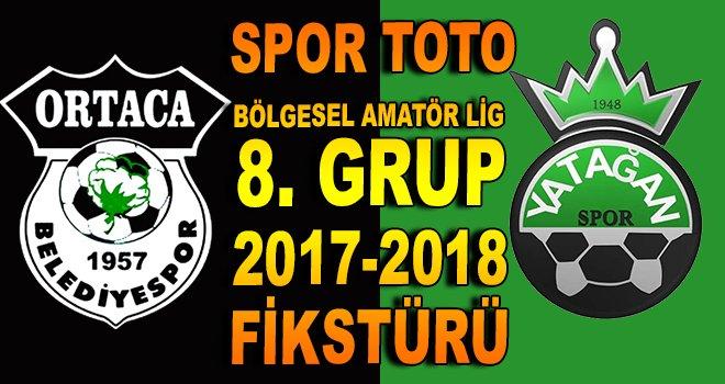 BAL 8. Grup 2017-2018 fikstürü