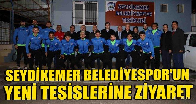 Başkan Otgöz'den Seydikemer Belediyespor'un yeni tesislerine ziyaret