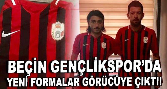 Beçin Gençlikspor'da yeni formalar görücüye çıktı!