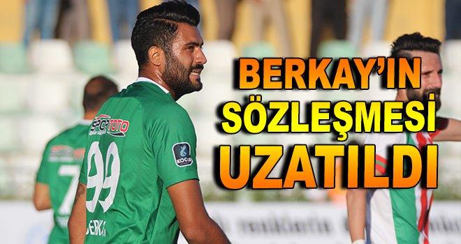 Berkay'ın sözleşmesi uzatıldı