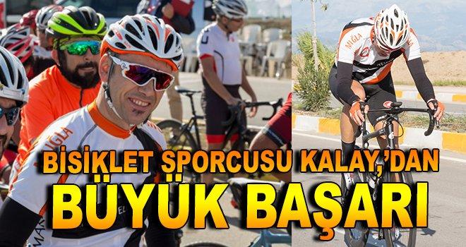 Bisiklet Sporcusu Kalay, Menteşe'yi gururlandırdı