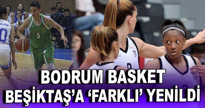 Bodrum Basket, Beşiktaş'a farklı yenildi