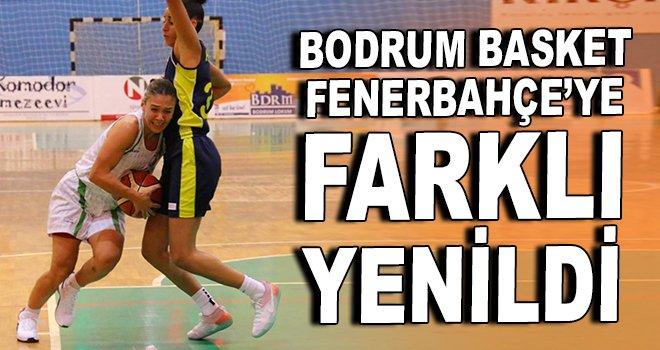 Bodrum Basket, Fenerbahçe'ye farklı yenildi