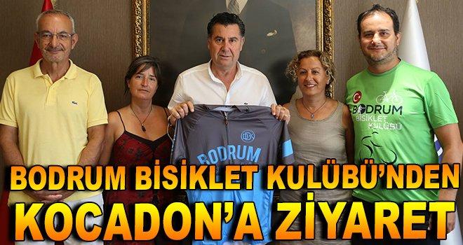 Bodrum Bisiklet Kulübü'nden Kocadon'a ziyaret