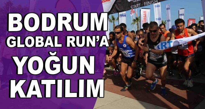 Bodrum Global Run'a yoğun katılım