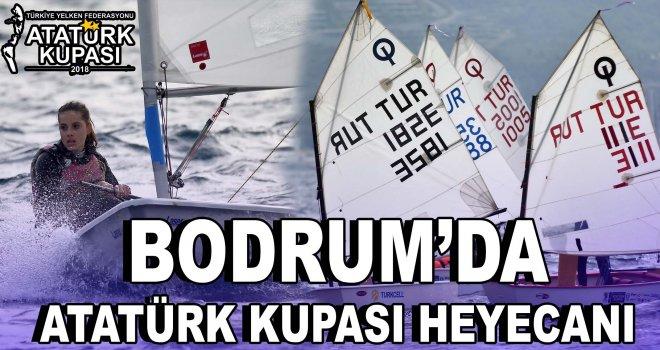 Bodrum'da Atatürk Kupası heyecanı