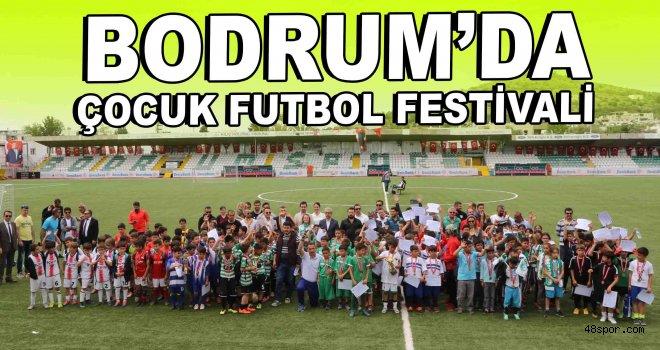 Bodrum'da Çocuk Futbol Festivali yapıldı