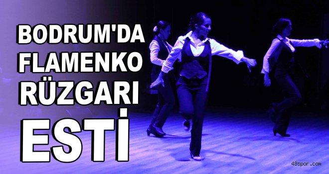 Bodrum'da flamenko rüzgarı esti