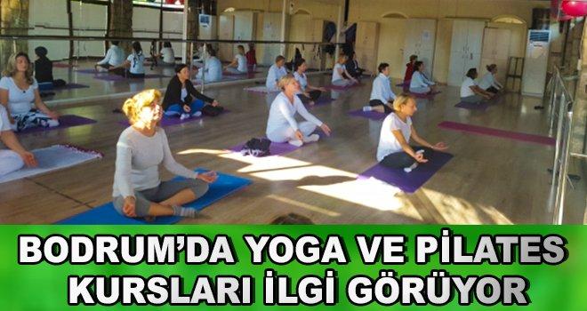 Bodrum'da Yoga ve Pilates Kursları İlgi Görüyor