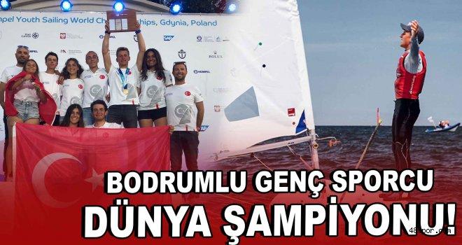 Bodrumlu genç sporcu ''Dünya Şampiyonu''