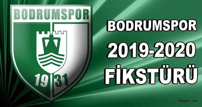 Bodrumspor 2019-2020 ilk yarı fikstürü