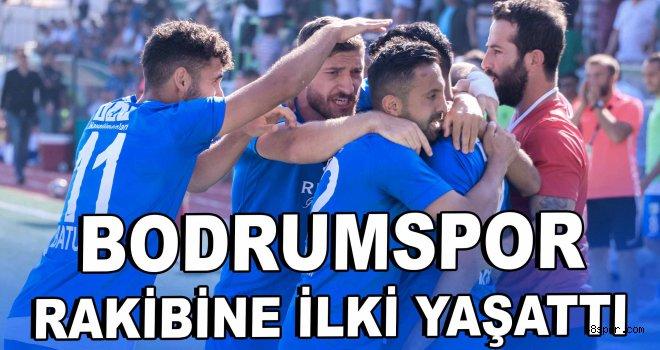 Bodrumspor rakibine bu sezon ilki yaşattı