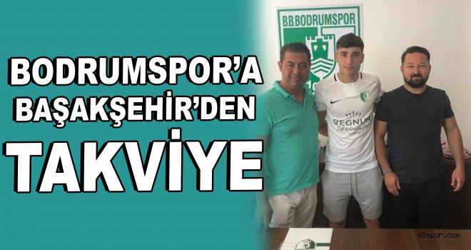 Bodrumspor'a Başakşehir'den takviye