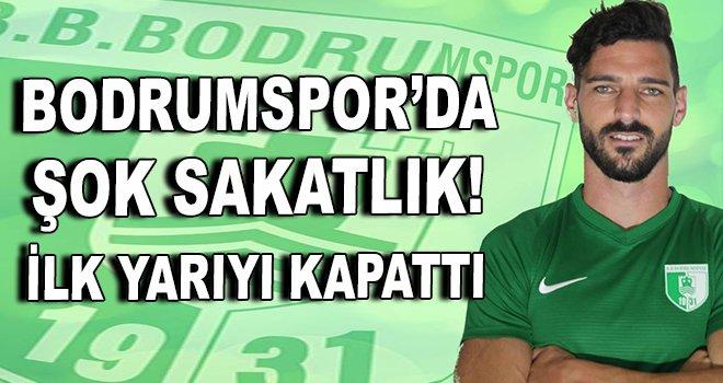 Bodrumspor'a sakatlık şoku!