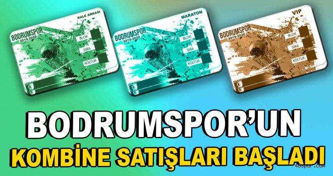 Bodrumspor'un 2019-2020 sezonu kombine satışları başladı