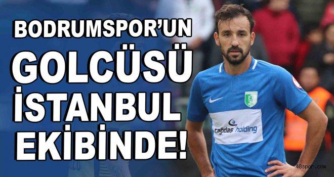 Bodrumspor'un golcüsü İstanbul ekibine transfer oldu