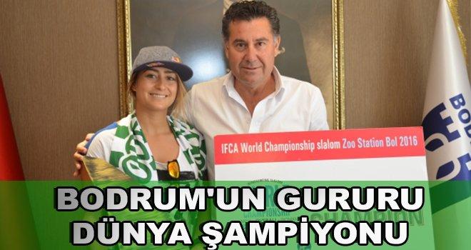 Bodrum'un Gururu Dünya Şampiyonu