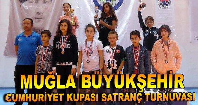 Büyükşehir Cumhuriyet Kupası Satranç Turnuvası sona erdi