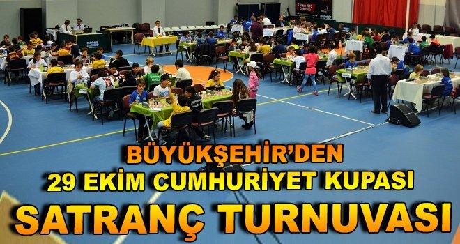 Büyükşehir'den 29 Ekim Cumhuriyet Kupası Satranç Turnuvası
