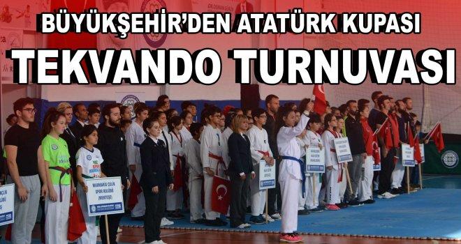 Büyükşehir'den Atatürk Kupası Tekvando Turnuvası