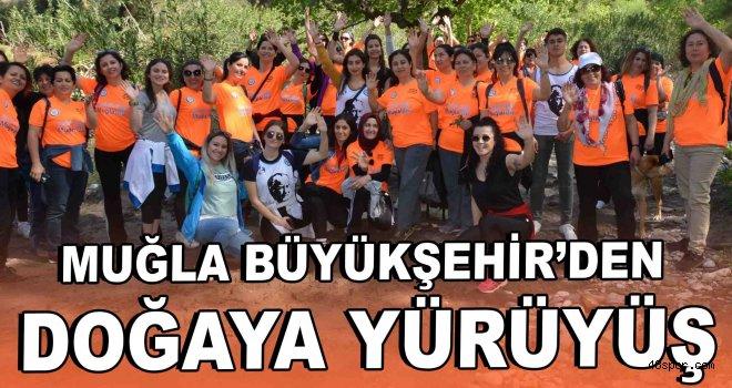 Büyükşehir'den Sağlık Haftasında doğaya yürüyüş
