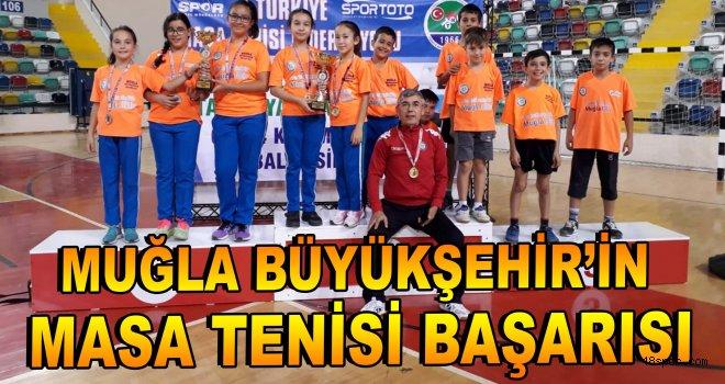 Büyükşehir'in masa tenisi başarısı