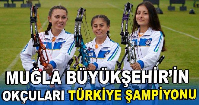 Büyükşehir'in okçuları Türkiye Şampiyonu