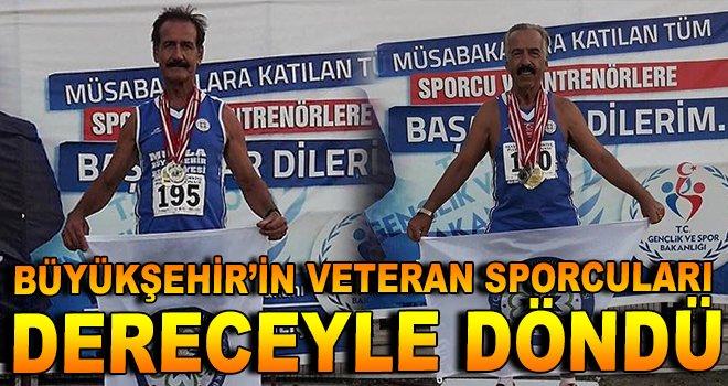 Büyükşehir'in Veteran Sporcuları Şampiyonadan Dereceyle Döndü
