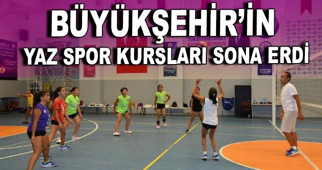 Büyükşehir'in Yaz Spor Kursları sona erdi