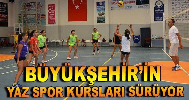 Büyükşehir'in Yaz Spor Kursları Sürüyor