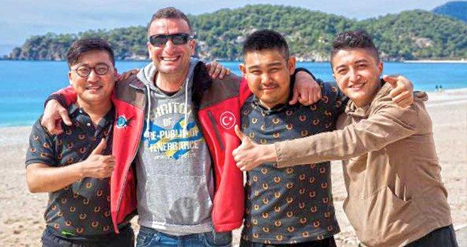 Çin'den Fethiye'ye Yamaç Paraşütü Pilotu Olmak İçin Geldiler