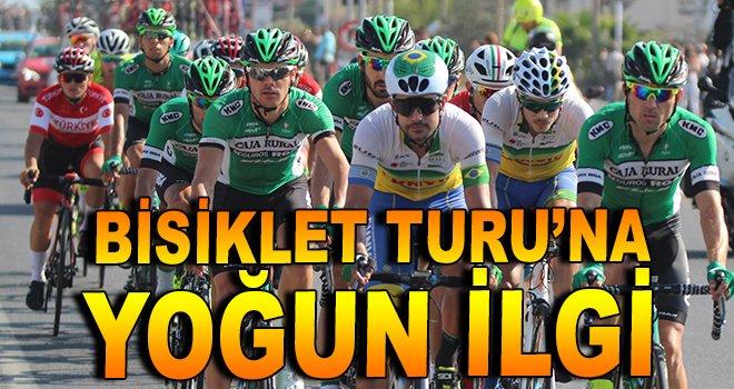 Cumhurbaşkanlığı Bisiklet Turu'na yoğun ilgi