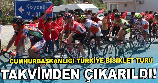 Cumhurbaşkanlığı Türkiye Bisiklet Turu takvimden çıkarıldı!