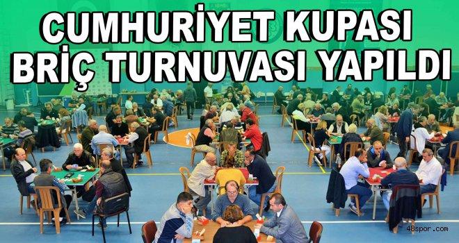 Cumhuriyet Kupası Briç Turnuvası Düğerek'te yapıldı