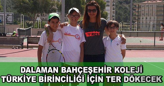 Dalaman Bahçeşehir Koleji Türkiye Birinciliği İçin Ter Dökecek