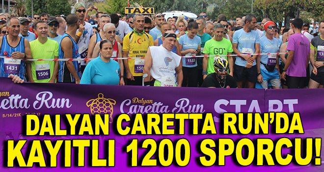 Dalyan Caretta Run'da kayıtlı 1200 sporcu!
